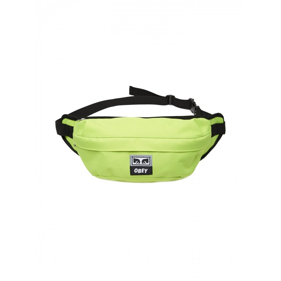 Riñonera Obey Drop Out Sling Pack Safety Green