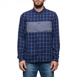 Camisa Element Cooper Shirt Midnight Blue