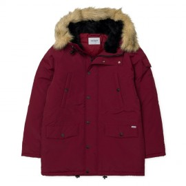 Cazadora Carhartt Anchorage Parka Mulberry Black