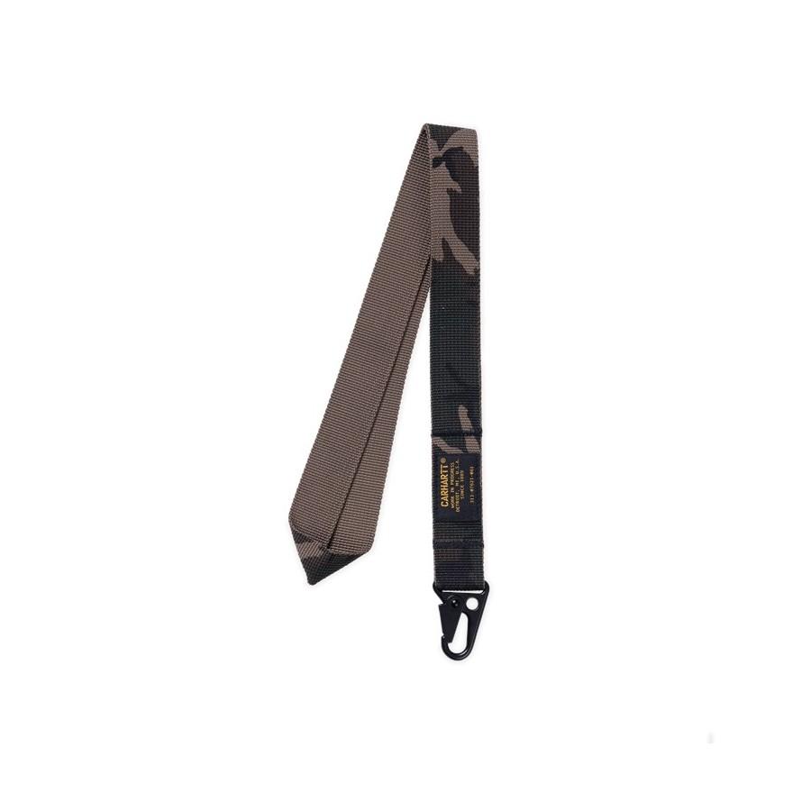 Llavero Military Key Chain Long Black