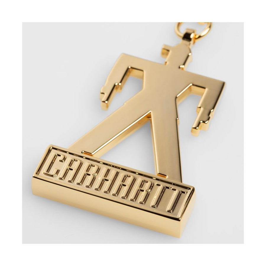 Llavero Carhartt Foundation Keyring Zinc Silver