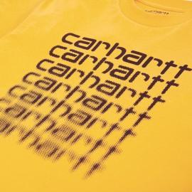 Camiseta Carhartt Fading Script SS Sunflower Black