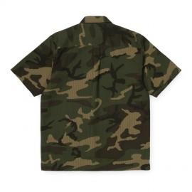 Camisa Carhartt Southfield Shirt SS Camo Laurel