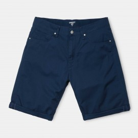 Bermuda Carhartt Swell Short Bluel Rinsed
