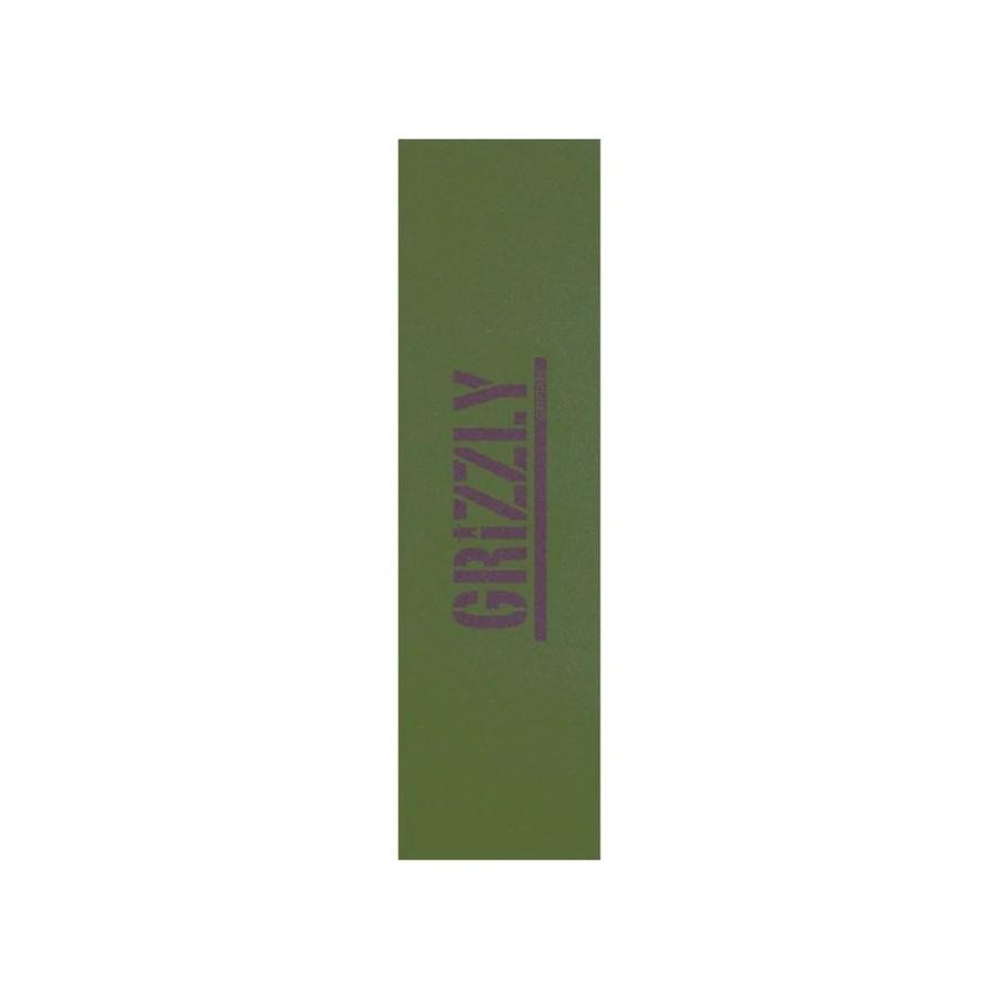 Lija Grizzly Stamp Necessities Green Griptape