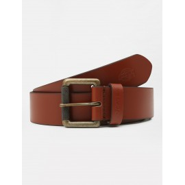 Cinturon Dickies South Shore Leather Belt Brown