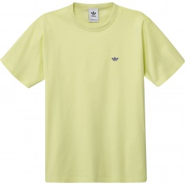 Camiseta Adidas SHMOOLG Tee Yellow Purple