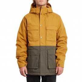 Cazadora Volcom Renton Winter 5K Jacket Golden Brown