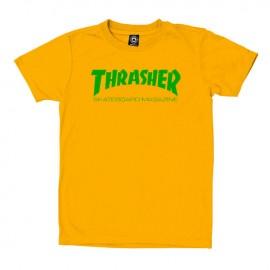 Camiseta Thrasher Skate Mag Tee Gold