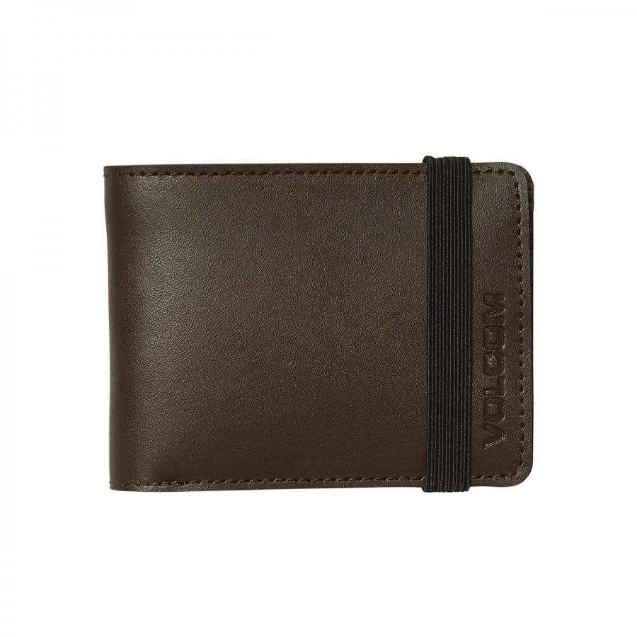 Cartera Volcom Halfstone Leather 2F Brown