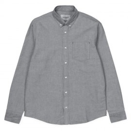 Camisa Carhartt Button Down Pocket Shirt LS Black