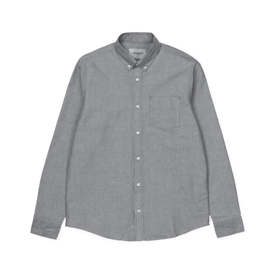 Camisa Carhartt Button Down Pocket Shirt LS Black