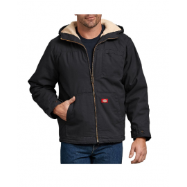 Cazadora Dickies Duck Sherpa Lined Jacket Black