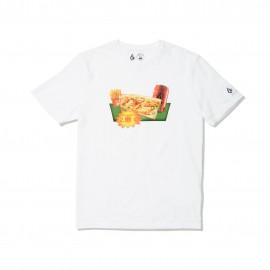 Camiseta MACBALIFE x VOLCOM SS Tee 2 White
