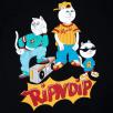 Camiseta RipnDip Nerm And The Gang Tee Black