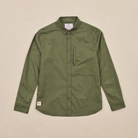 Camisa Globe Foundation LS Shirt Olive