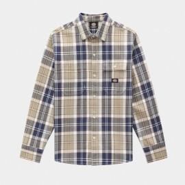 Camisa Dickies Cokato LS Shirt Khaki