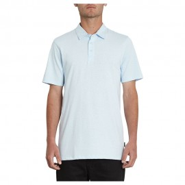 Polo Volcom Wowzer SS Ash Heather Blue