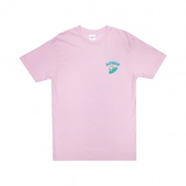 Camiseta RipN Dip The World Is Yours Tee Light Pink