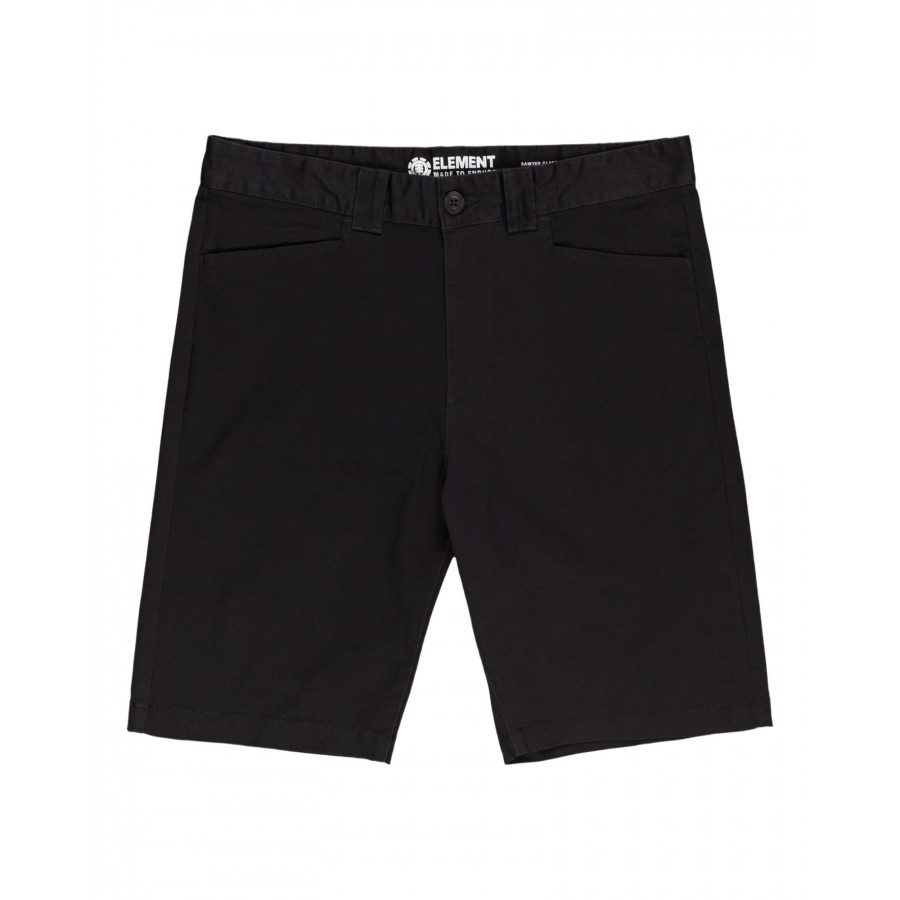 Bermuda Element Sawyer Classic Short Off Black