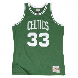 Camiseta Mitchell & Ness Boston Celtics Larry Bird Kelly Green