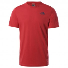 Camiseta The North Face Redbox Celebration Tee SS Rococco Red