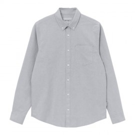 Camisa Carhartt Button Down Pocket Shirt LS Shiver