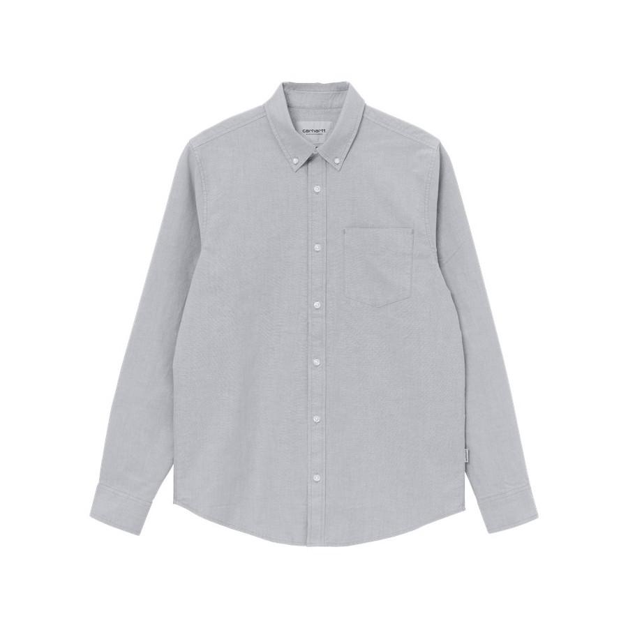 Camisa Carhartt Button Down Pocket Shirt LS Shiver