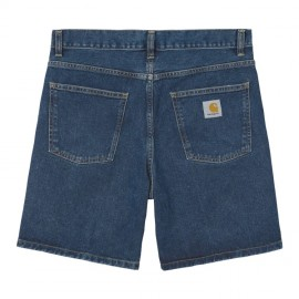 Bermuda Carhartt Newel Short Blue Stone Washed