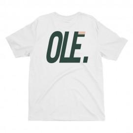 Camiseta OLE X VILLAINS Ww Degrade Tee White