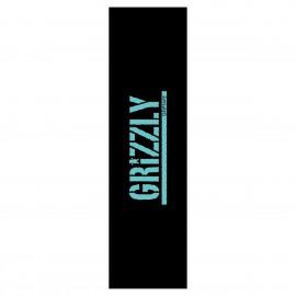 Lija Grizzly Stamp Print Grip Aqua