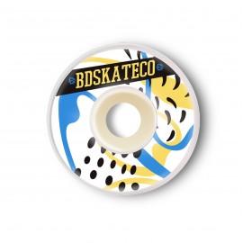 Ruedas BDSkateCO Splash Yellow Blue 52mm